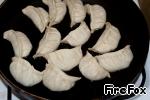 """Японские пельмени """"Гедза"""" с рыбным фаршем – кулинарный рецепт"""
