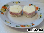 Бутерброды Цветочки ингредиенты