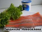 """Канапе """"Розочка"""" – кулинарный рецепт"""