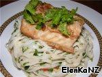 Рыба в имбирно-соевом соусе с лапшой ингредиенты