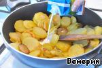 Картофель со сливками и укропом ингредиенты