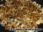Патиссоны с куриной печенью и грибами – кулинарный рецепт