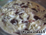 Нежный печeночный пирог с сыром – кулинарный рецепт
