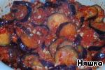 Липкие острые баклажаны – кулинарный рецепт