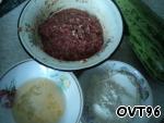 Кабачки с фаршем в кляре ингредиенты