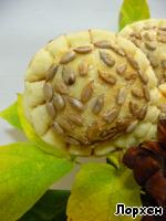 """Булочки """"Осенние цветы"""" – кулинарный рецепт"""