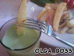 Картофель с луковым и томатным соусами – кулинарный рецепт