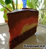 """Быстрый торт """"Шоколадно-банановое безумие"""" – кулинарный рецепт"""