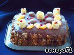 """Торт """"Гормон счастья"""" ингредиенты"""