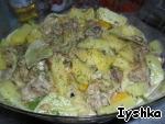 Курица с картофелем в пароварке ингредиенты