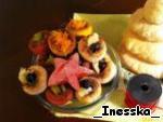 "Тарталетки ""Елочки"" – кулинарный рецепт"