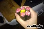 Суши-цветок – кулинарный рецепт