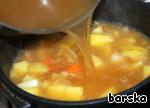 Картофельный суп-толчeнка с квашеной капустой ингредиенты