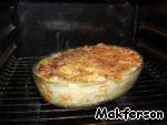 Запекать в разогретой до 200°C градусов духовке примерно 45 минут.
