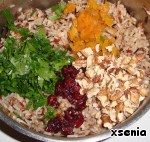 Салат из дикого риса