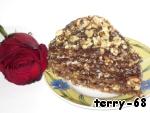 Вафельный торт с щербетом – кулинарный рецепт