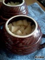 Горшочек с картофелем и мясом ингредиенты