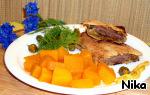 Тыква маринованная – кулинарный рецепт