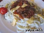 Спагетти с говядиной ингредиенты