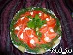 Салат из говядины с ананасом и помидорами – кулинарный рецепт