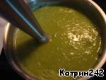 Суп-пюре из зеленого горошка ингредиенты