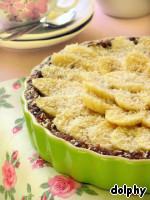 Постный кремовый пирог с бананами ингредиенты