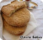 Греческая лепешка Лагана ингредиенты