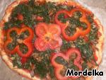 Пицца со шпинатом и мидиями ингредиенты