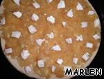 Пицца с карамелизованным луком и фетой ингредиенты