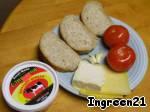 """Горячие бутерброды """"Завтрак в выходной"""" – кулинарный рецепт"""