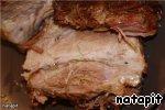 Мясо в универсальном маринаде, запеченное целым куском ингредиенты