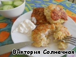 Serve with sour cream and vegetables! Good morning to you and have a nice day!