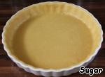 Песочное тесто я делала по рецепту Маши https://www.povarenok.ru/recipes/show/57649/    Очень уж оно мне нравится. Но вы можете взять любой рецепт песочного теста. Тесто раскатать, накалоть вилкой.