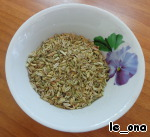 Will conduct preparatory work the sugar and fennel seeds grind in a coffee grinder.