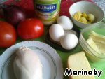 Необходимые продукты для салатика.