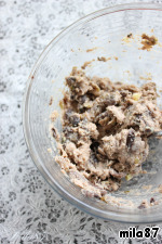 Mix mushroom mixture and pate.