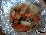 Serve right in the foil as a separate dish or garnish.