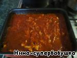 Мясо готово. При желании в блюдо можно добавить грибы. Я не добавляла, но в следующий раз обязательно попробую с грибами.