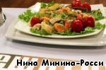 Вариант салата, приготовленный на телешоу.