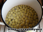 Gooseberries, or sliced rhubarb pour boiling water and cook, but do not seethe. Allow to stand for 2 hours.