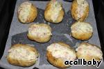 Ставим картофель в духовку на минут 15-20, до появления аппетитной корочки.