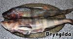 Atka mackerel clean, remove the gills.