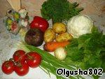 Набор продуктов для борща
