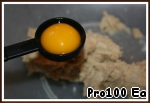 3. Add the yolk.