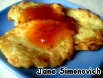 Serve hot with any jam. In the photo - with apricot :)  Bon appetit!