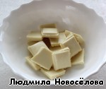 Melt the chocolate in a water bath or in the microwave