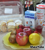 Almost everything you need..  in addition to the berries for decoration, chocolate and melon.