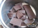 Шоколад топим на водяной бане или СВЧ