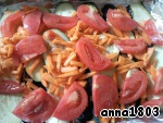 7. Now tomato, cut into slices.