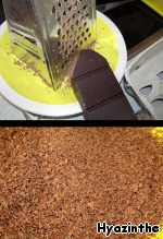 100 g of chocolate to grate shavings